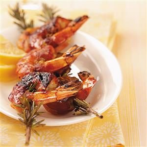 Shrimp on Rosemary Skewers Recipe