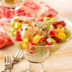 Shrimp Salad Cocktails Recipe