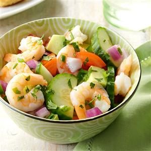 Shrimp Veggie Salad