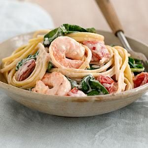 Shrimp in Love Pasta Recipe