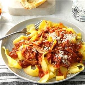 Sicilian Meat Sauce Recipe