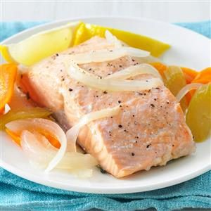 Simple Poached Salmon Recipe