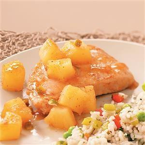 Simple Sweet Pork Chops Recipe