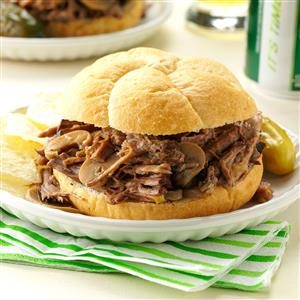 Simply Delicious Roast Beef Sandwiches Recipe
