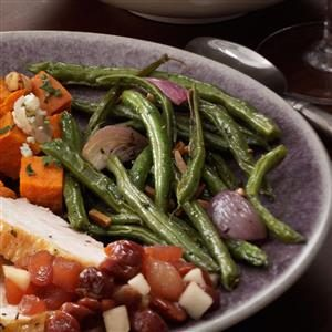 Sizzling Green Beans