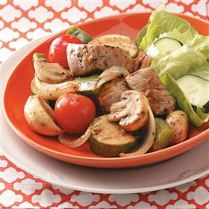 Skewerless Stovetop Kabobs for Two Recipe