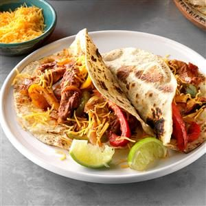 Skillet Chicken Fajitas Recipe