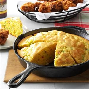 Skillet Herb Bread Recipe