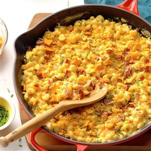Skillet Mac & Cheese Recipe