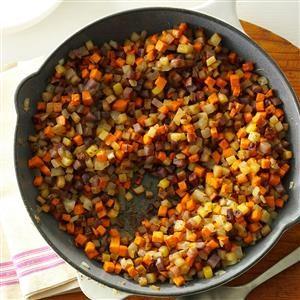 Skillet Potato Medley Recipe