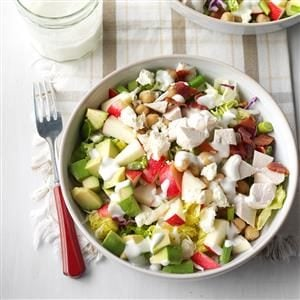 Skinny Cobb Salad Recipe