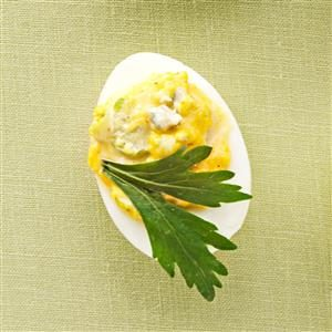 Slim Buffalo Deviled Eggs Recipe