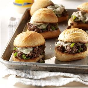 Sloppy Cheesesteaks Recipe