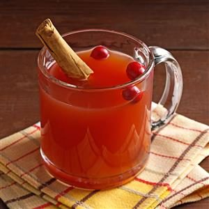 Slow-Cooked Apple Cranberry Cider Recipe
