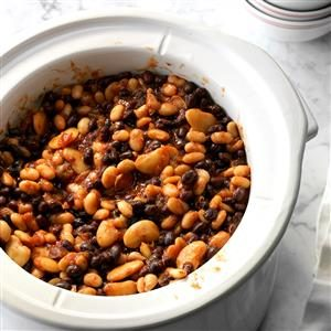 Slow-Cooked Beans Recipe