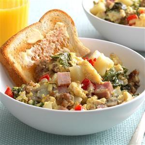 Slow-Cooked Big Breakfast Recipe