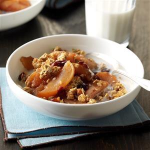 Slow-Cooked Breakfast Apple Cobbler Recipe