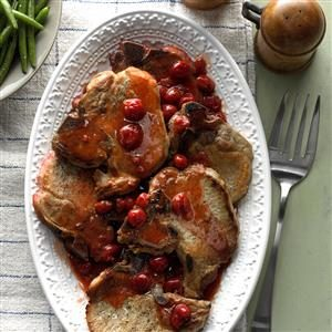 Slow-Cooked Cherry Pork Chops Recipe