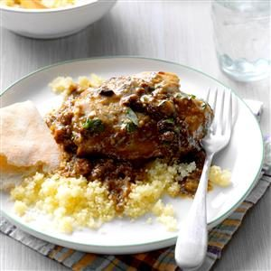 Slow-Cooked Chicken Marbella Recipe