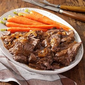 Slow-Cooked Coffee Pot Roast Recipe