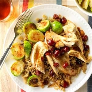 Slow-Cooked Cranberry Chicken Recipe