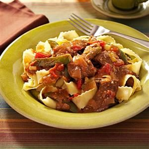 Slow-Cooked Pepper Steak Recipe