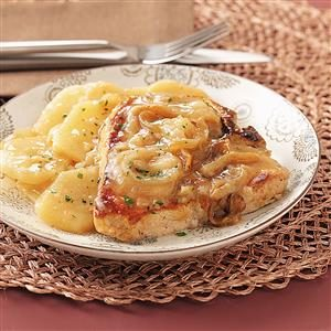 Slow-Cooked Pork Chops & Scalloped Potatoes Recipe