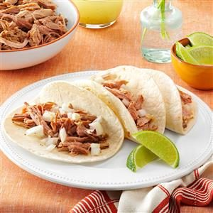 Slow-Cooked Pulled Pork with Mojito Sauce Recipe