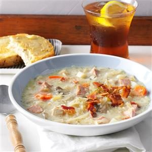 Slow-Cooked Sauerkraut Soup Recipe