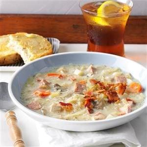 Slow-Cooked Sauerkraut Soup