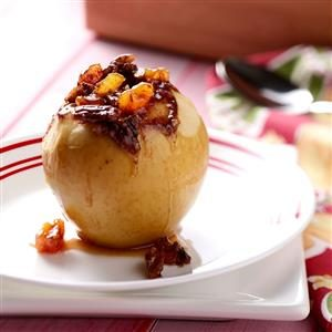Slow-Cooked Stuffed Apples Recipe