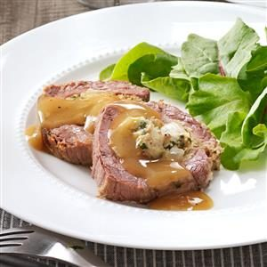 Slow-Cooked Stuffed Flank Steak Recipe