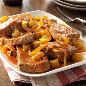 Slow-Cooked Swiss Steak Recipe