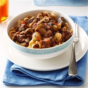 Slow Cooker Boeuf Bourguignon