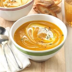 Slow Cooker Butternut Squash Soup Recipe