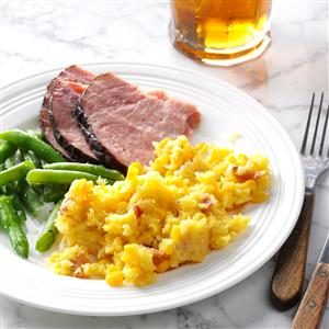 Slow Cooker Corn Pudding Recipe
