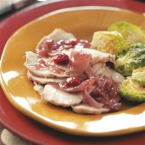 Slow Cooker Cranberry Sauce Pork Roast Recipe