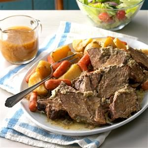 Slow Cooker Faux Prime Rib Roast Recipe