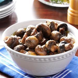 Slow Cooker Italian Mushrooms Recipe