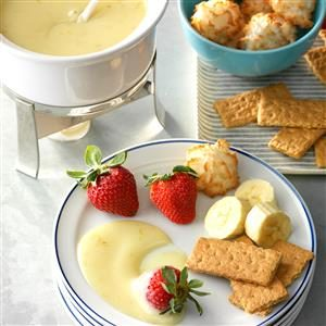 Slow Cooker Key Lime Fondue Recipe