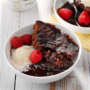Slow Cooker Lava Cake Recipe