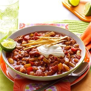 Slow Cooker Lime Chicken Chili Recipe
