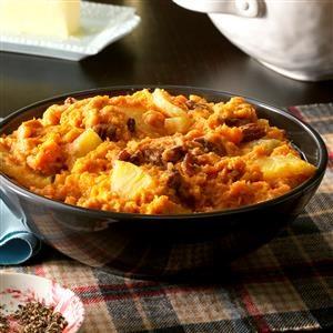 Slow Cooker Pineapple Sweet Potatoes