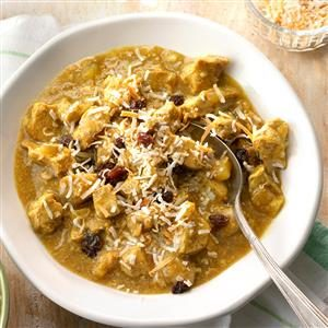 Slow-Cooker Pork and Apple Curry Recipe