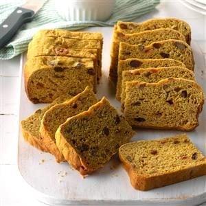Slow Cooker Pumpkin Yeast Bread Recipe
