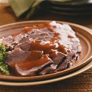 Slow Cooker Sauerbraten Recipe