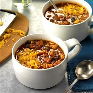 Slow Cooker Spicy Pork Chili