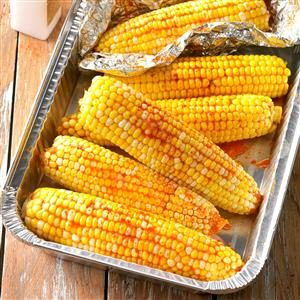 Slow Cooker Sriracha Corn