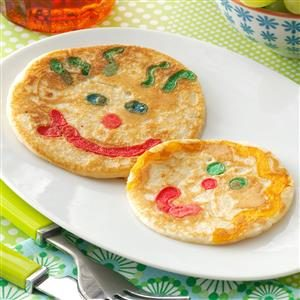 Smiley Face Pancakes Recipe