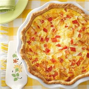 Smoked Salmon Quiche Recipe